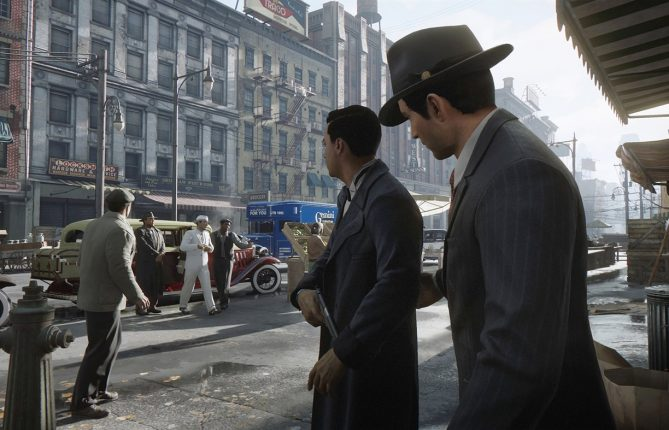 Mafia: Trilogy listing is live on PS4 Store for $60