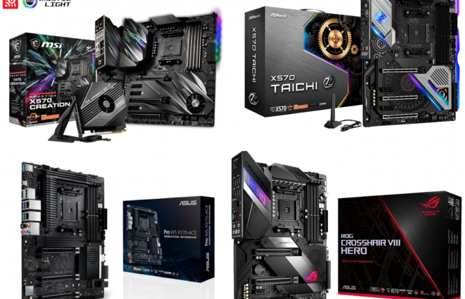 Best Gaming Motherboards for 3rd Gen Ryzen CPUs - $500 to $100
