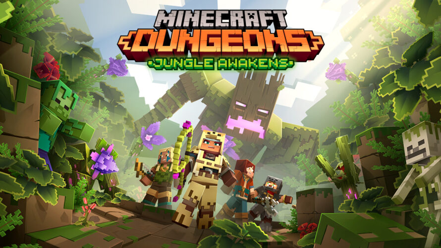 Minecraft Dungeons first DLC and Cross-Platform Details Revealed