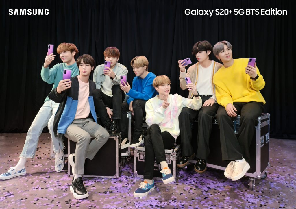 Samsung BTS Galaxy S20 Plus